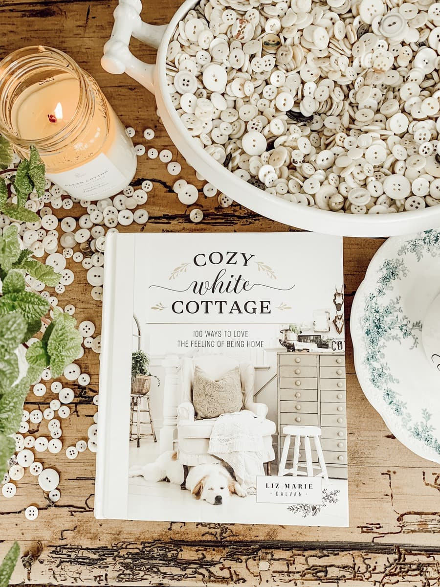 Cozy White Cottage Book by Liz Marie