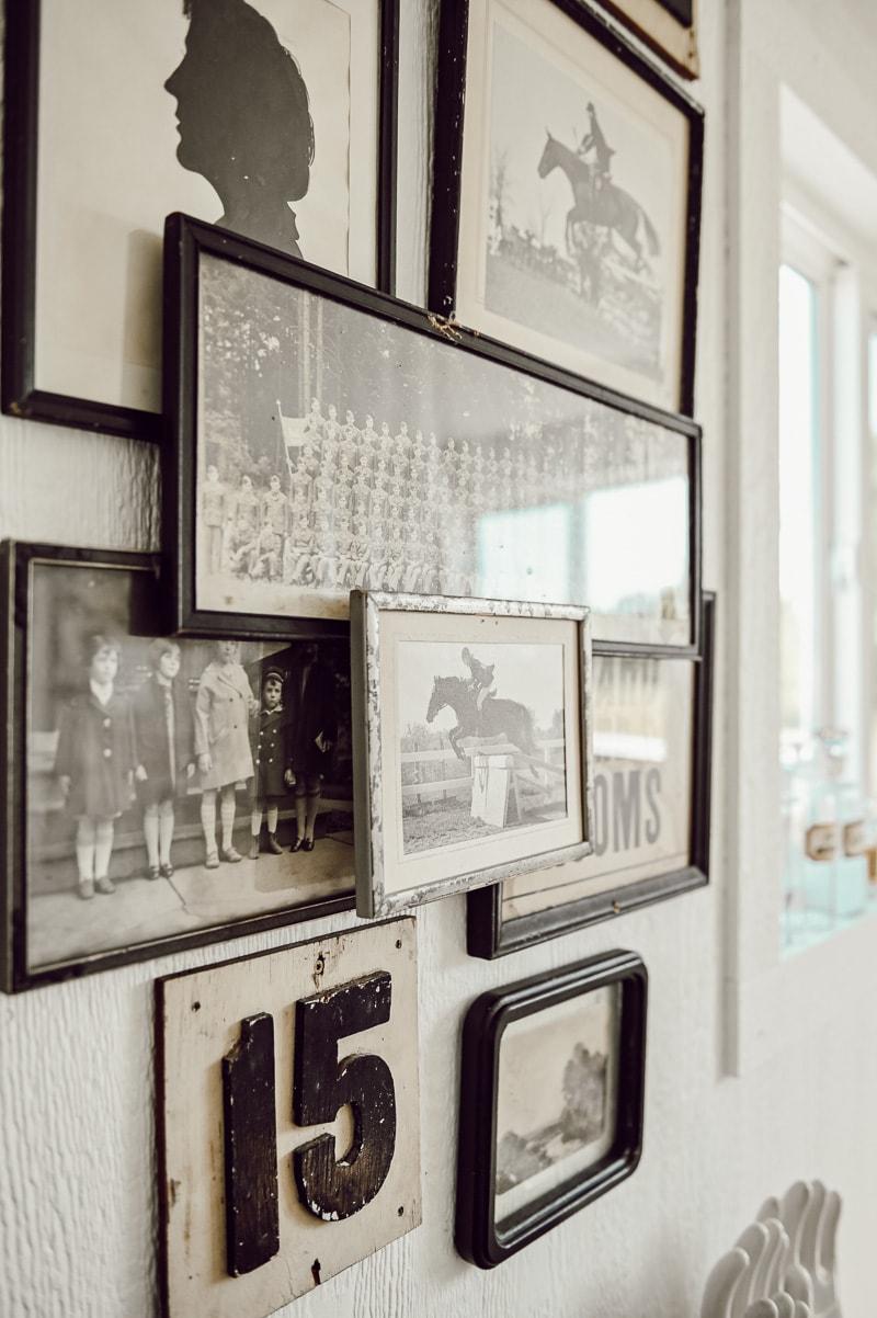 layered gallery, DIY Layered Gallery Wall