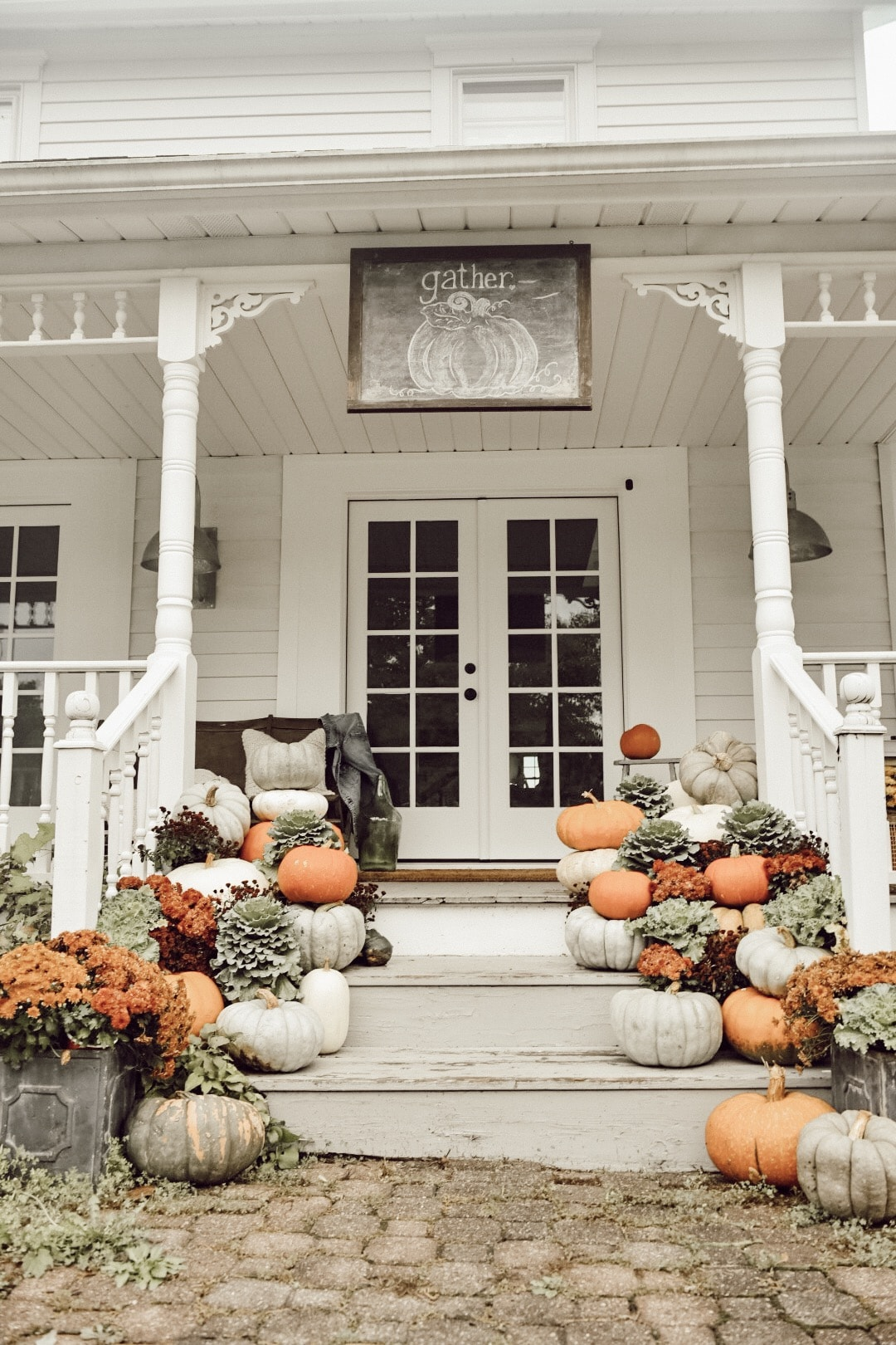 Porch Fall Decor