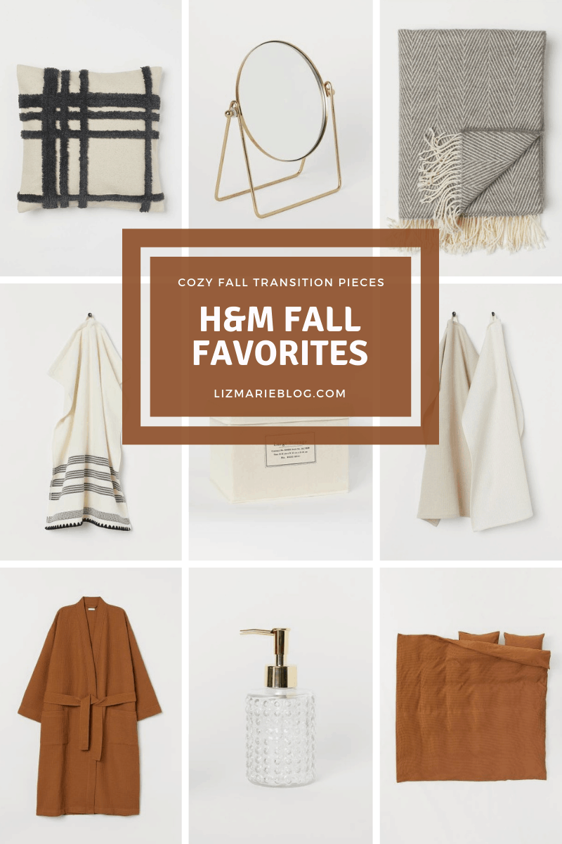 Cozy fall transition pieces from H&M