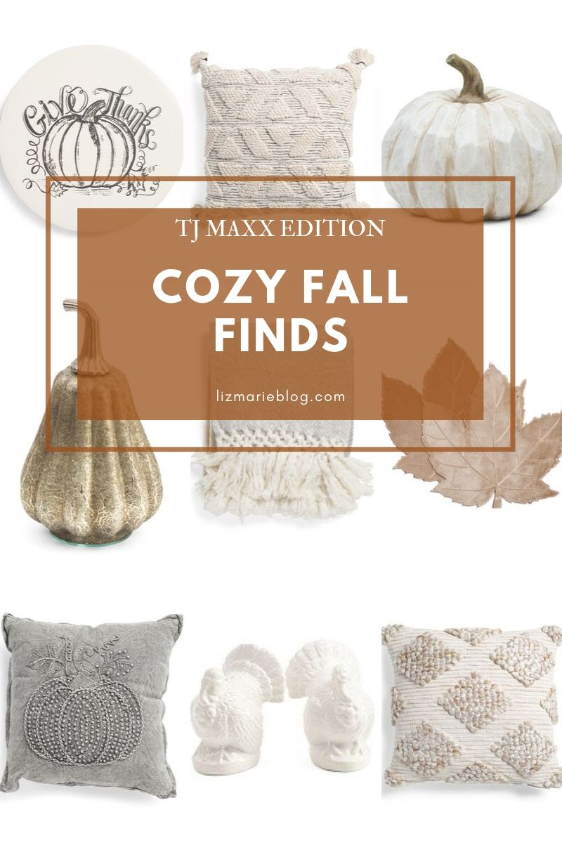 Cozy Fall Finds From TJ Maxx
