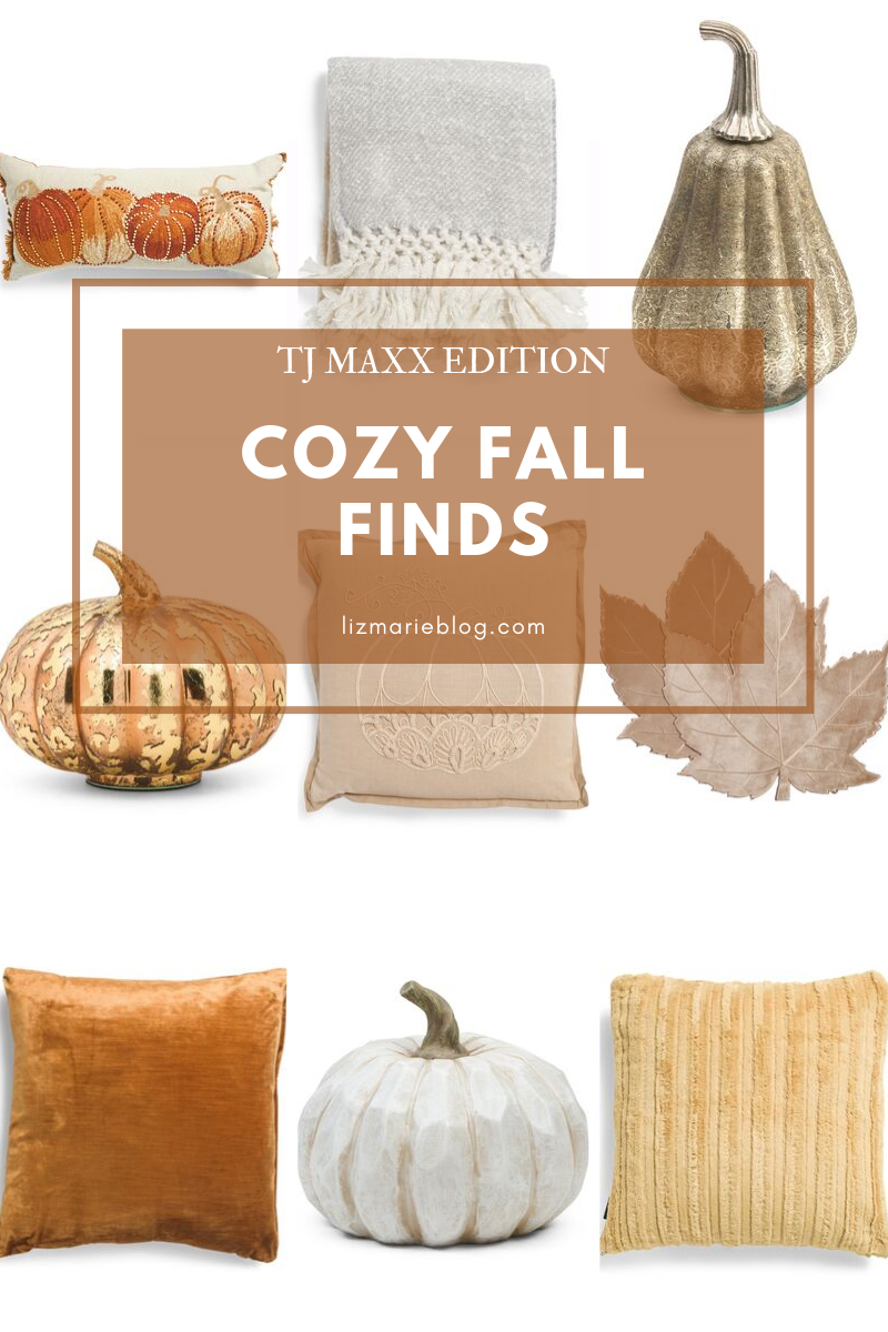 Cozy Fall Finds, Cozy Fall Finds From TJ Maxx