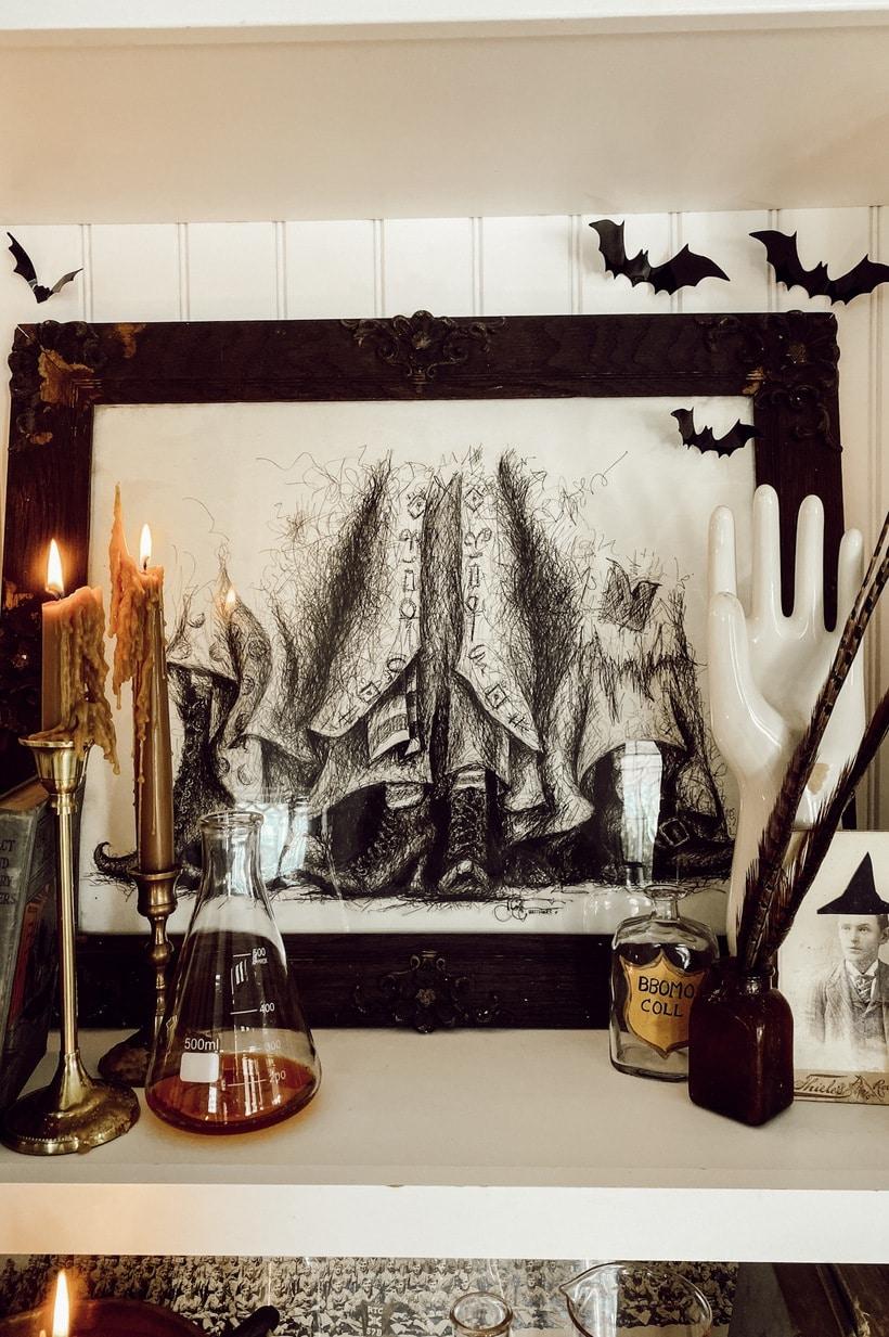 Creepy Halloween Art