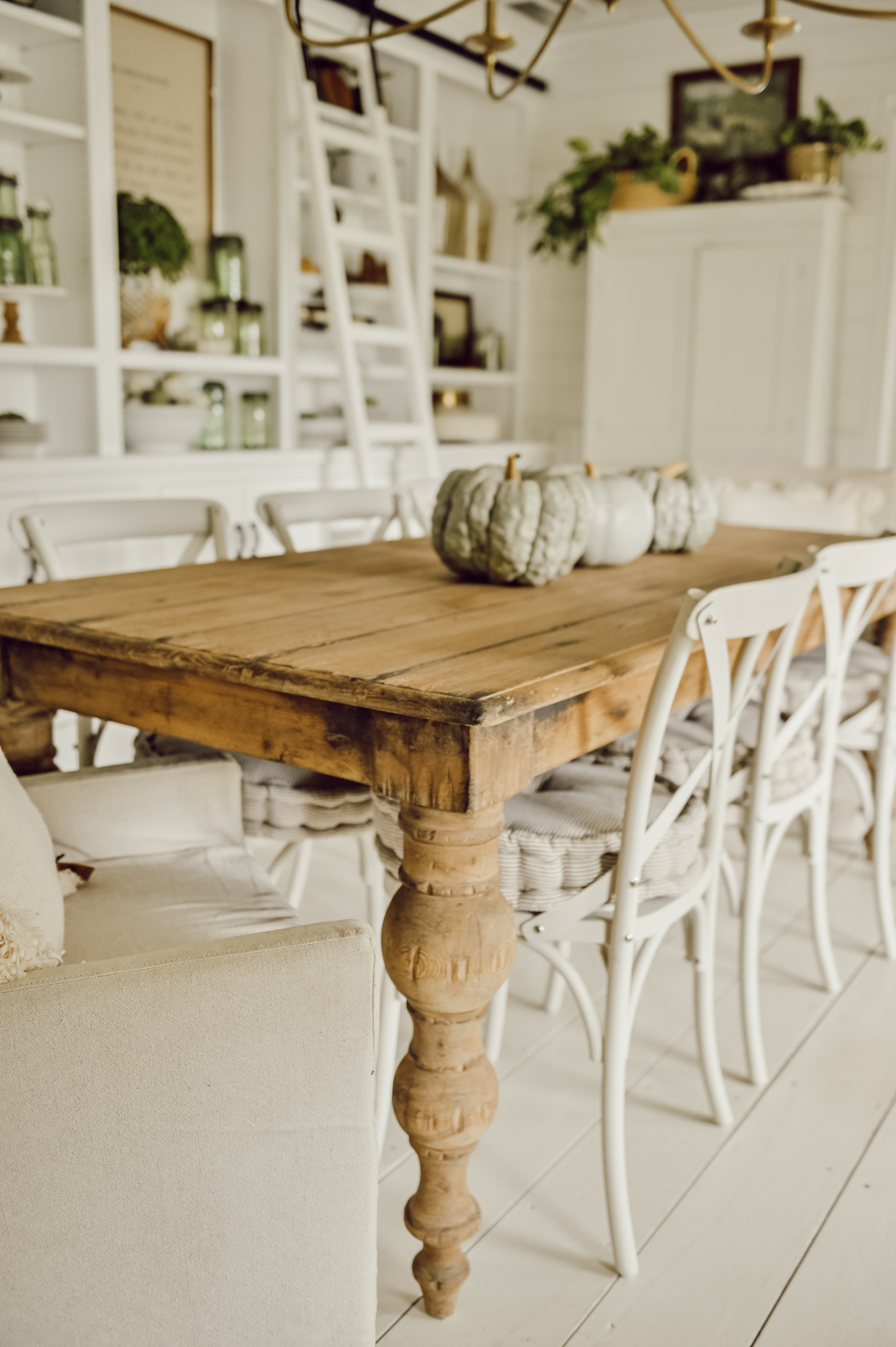 Simple Dining Room Table For Fall Liz Marie Blog