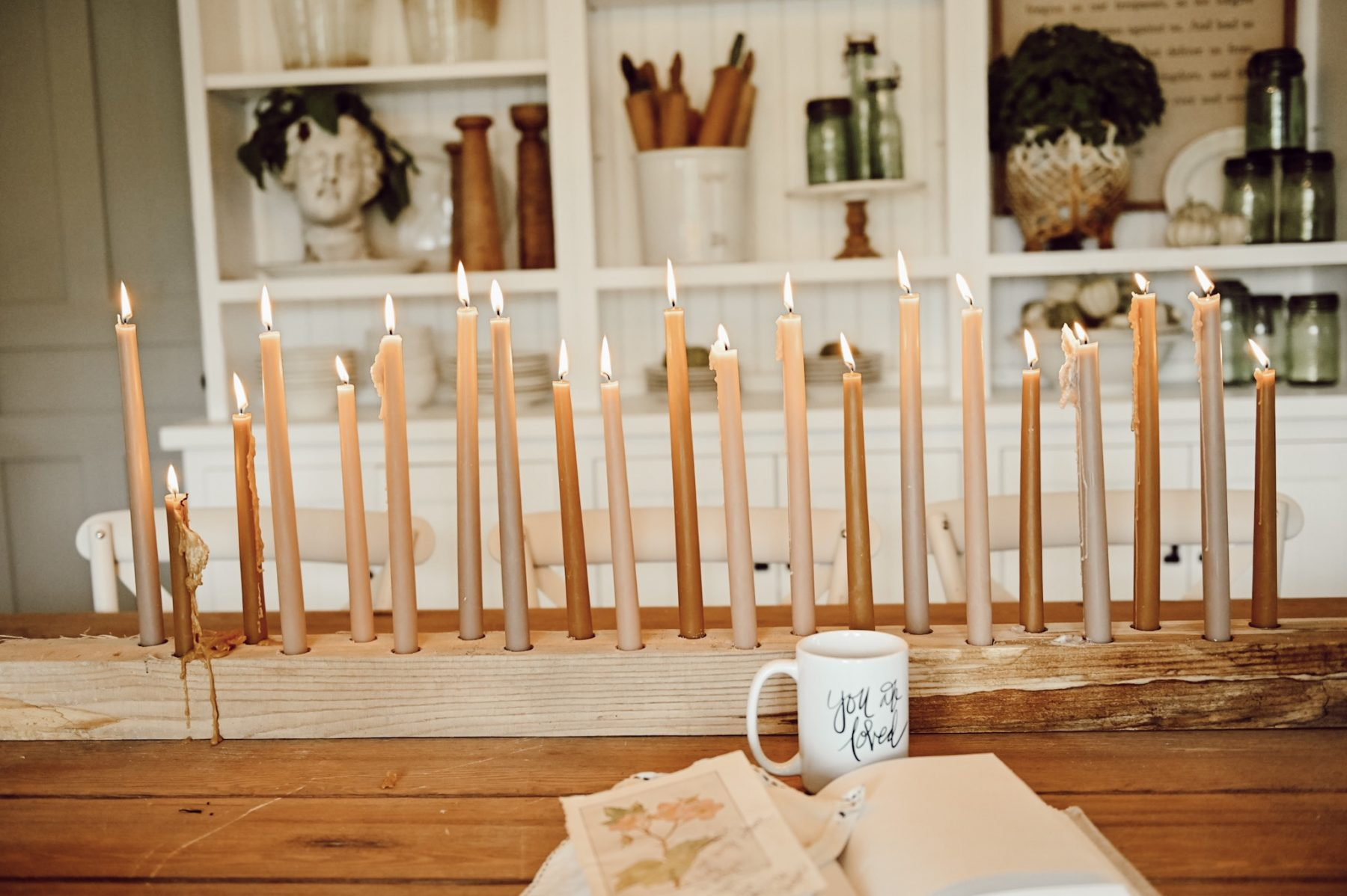 2 Step DIY Candlestick Holder