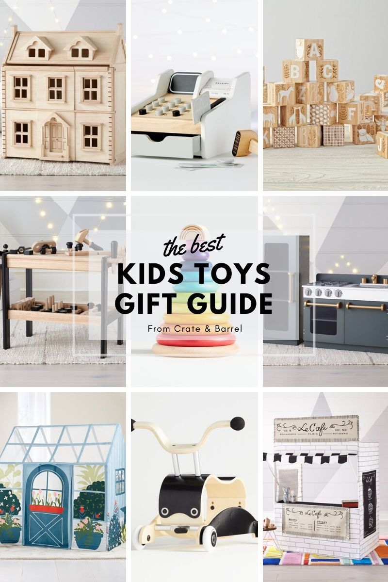 Crate & Kids Toy Gift Guide for your little ones birthday or easter