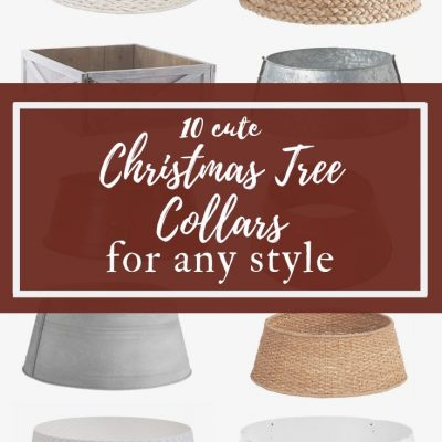 Christmas Tree Collars