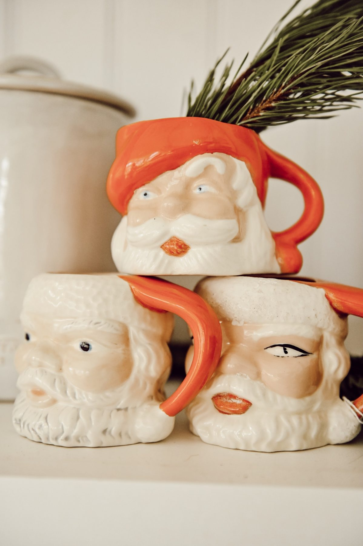 Festive Santa Mug Kitchen Liz Marie Blog