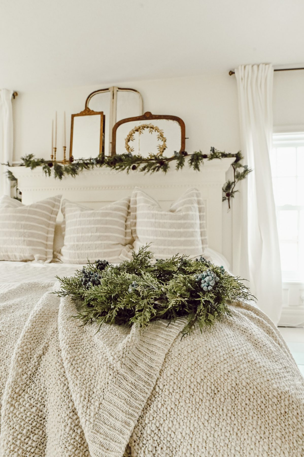 Cozy Christmas Bed