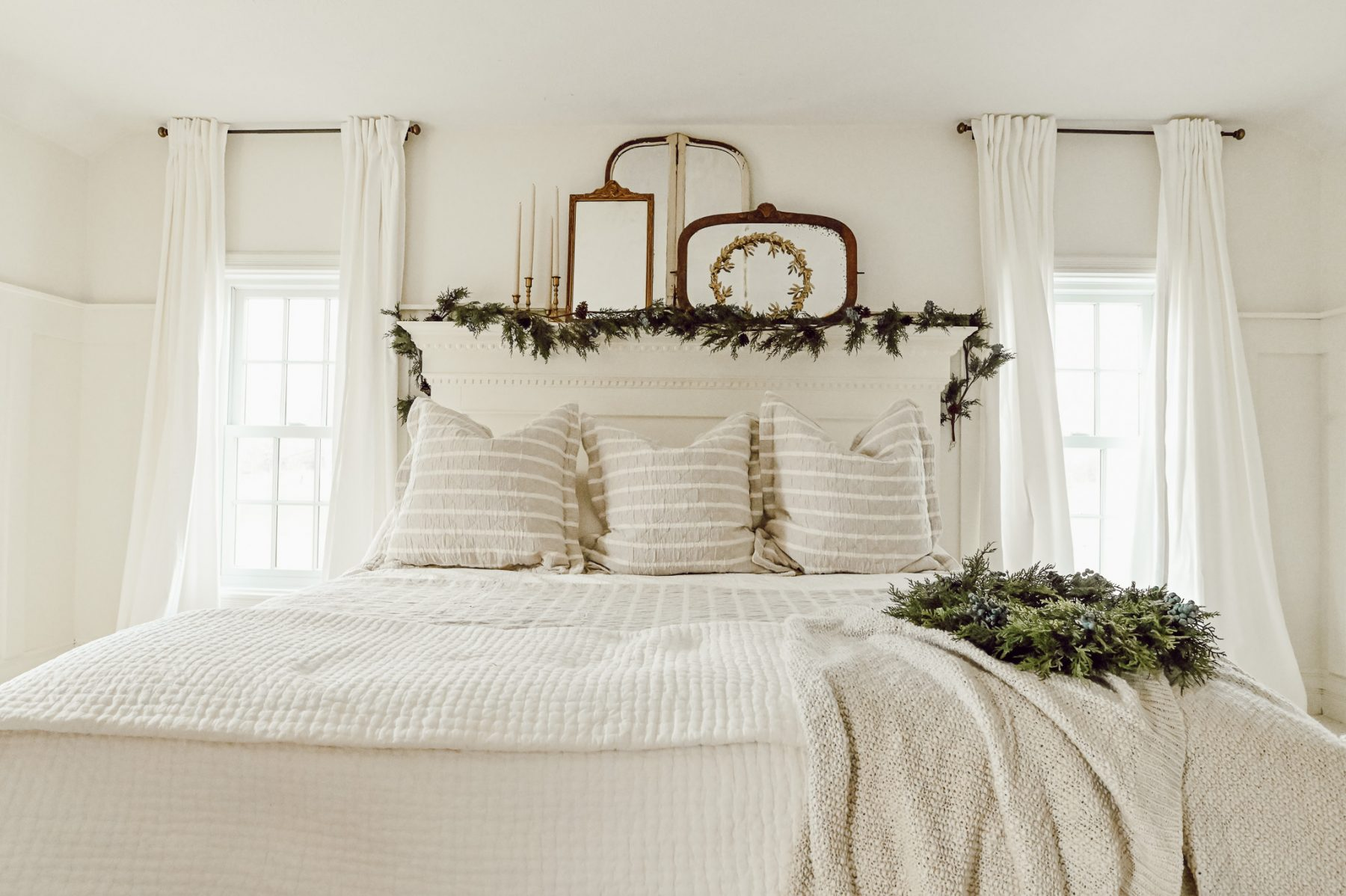 Simple Winter Bed