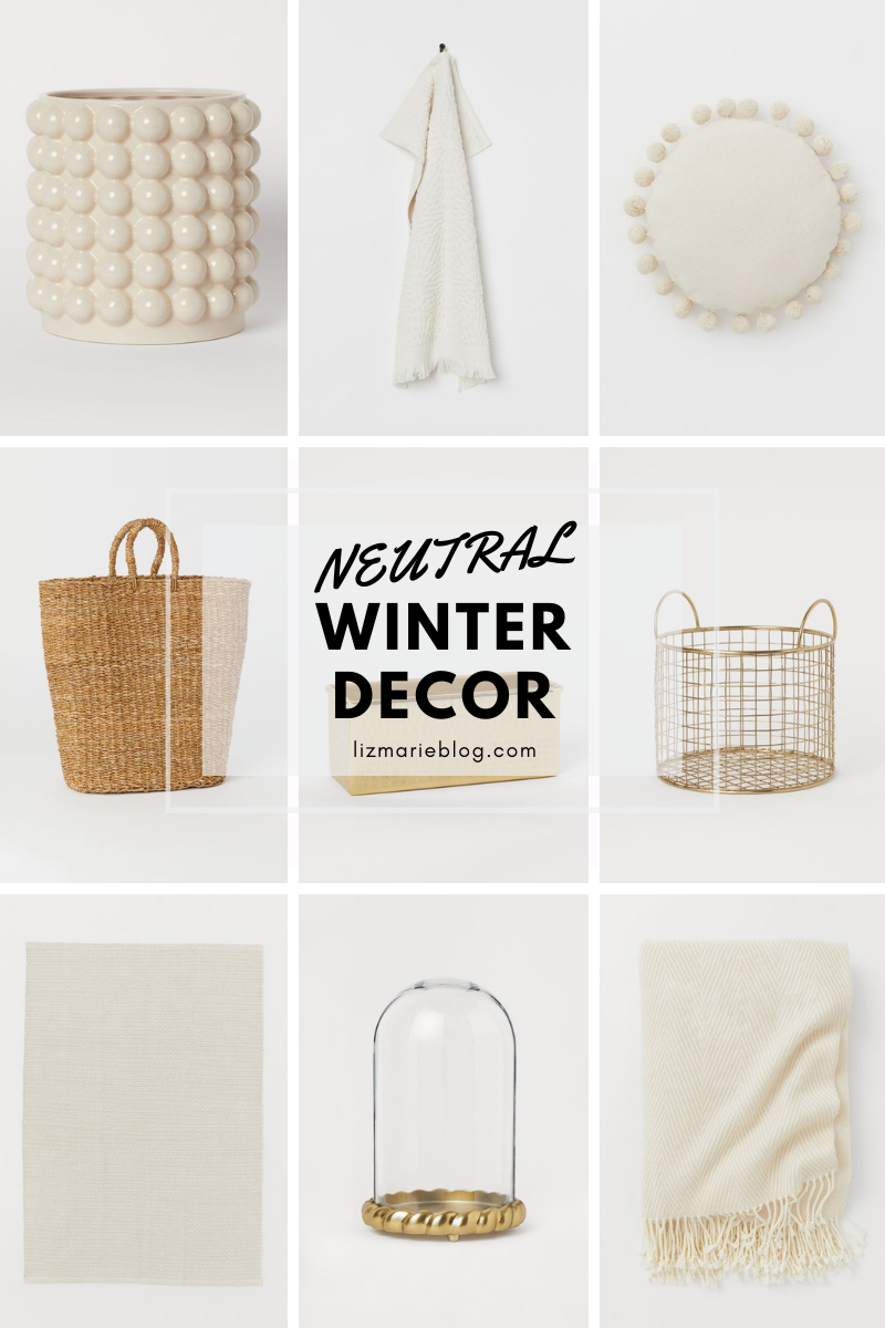 Affordable Winter Decor