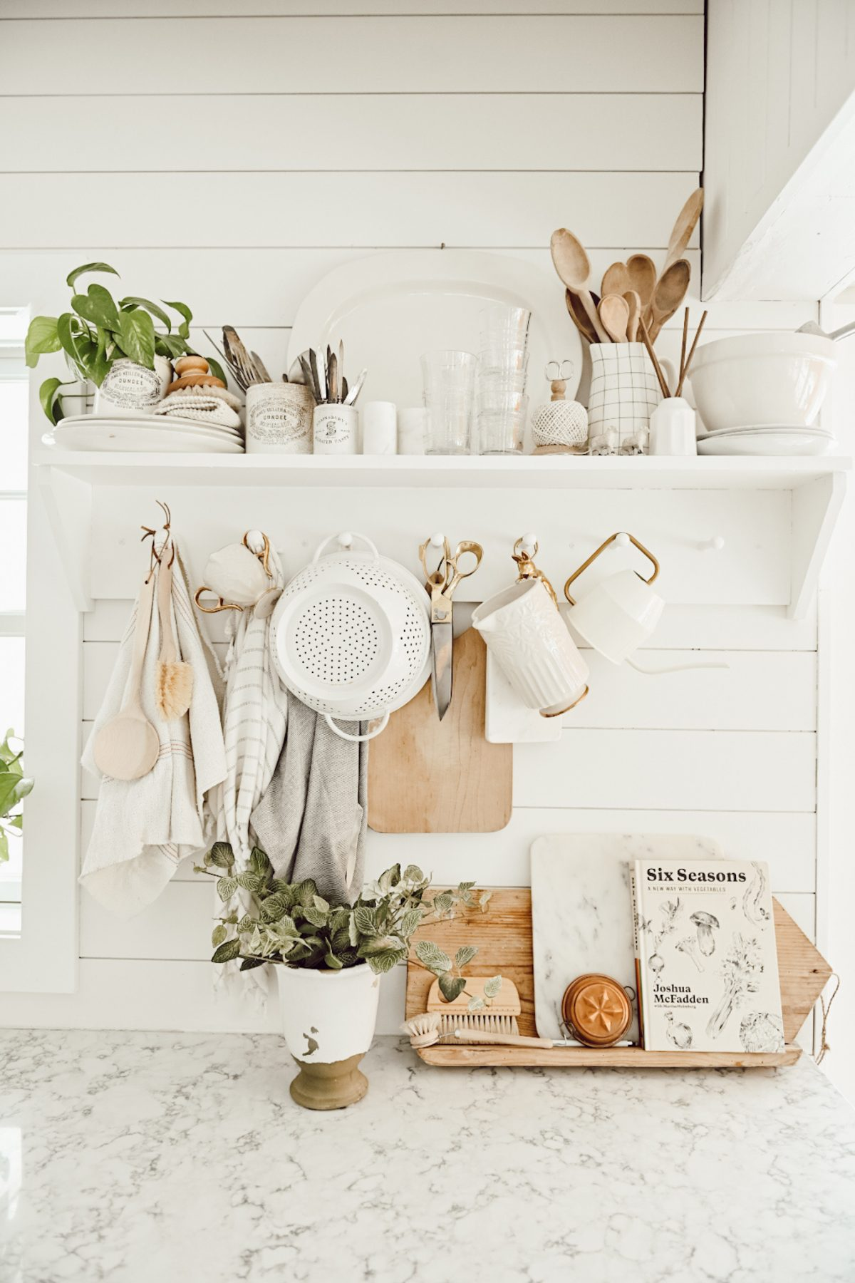 Farmhouse Kitchen Storage