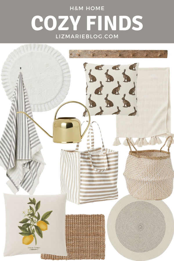 Cozy Spring Decor Featured Graphic