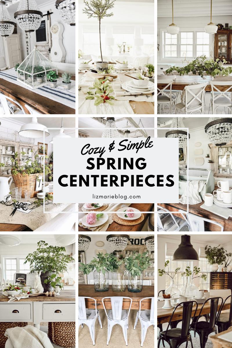 Spring Centerpiece Inspiration graphic