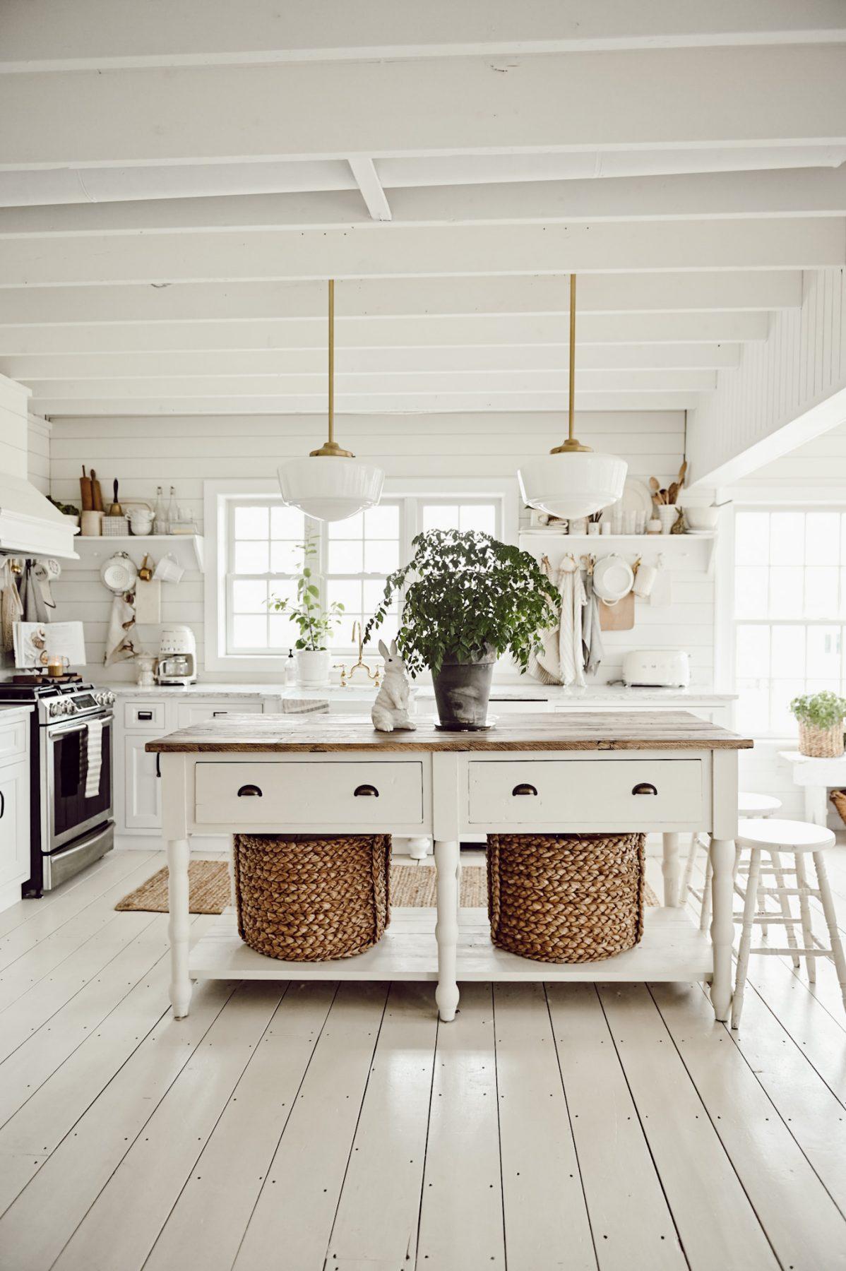 Painted Kitchen Island Liz Marie Blog