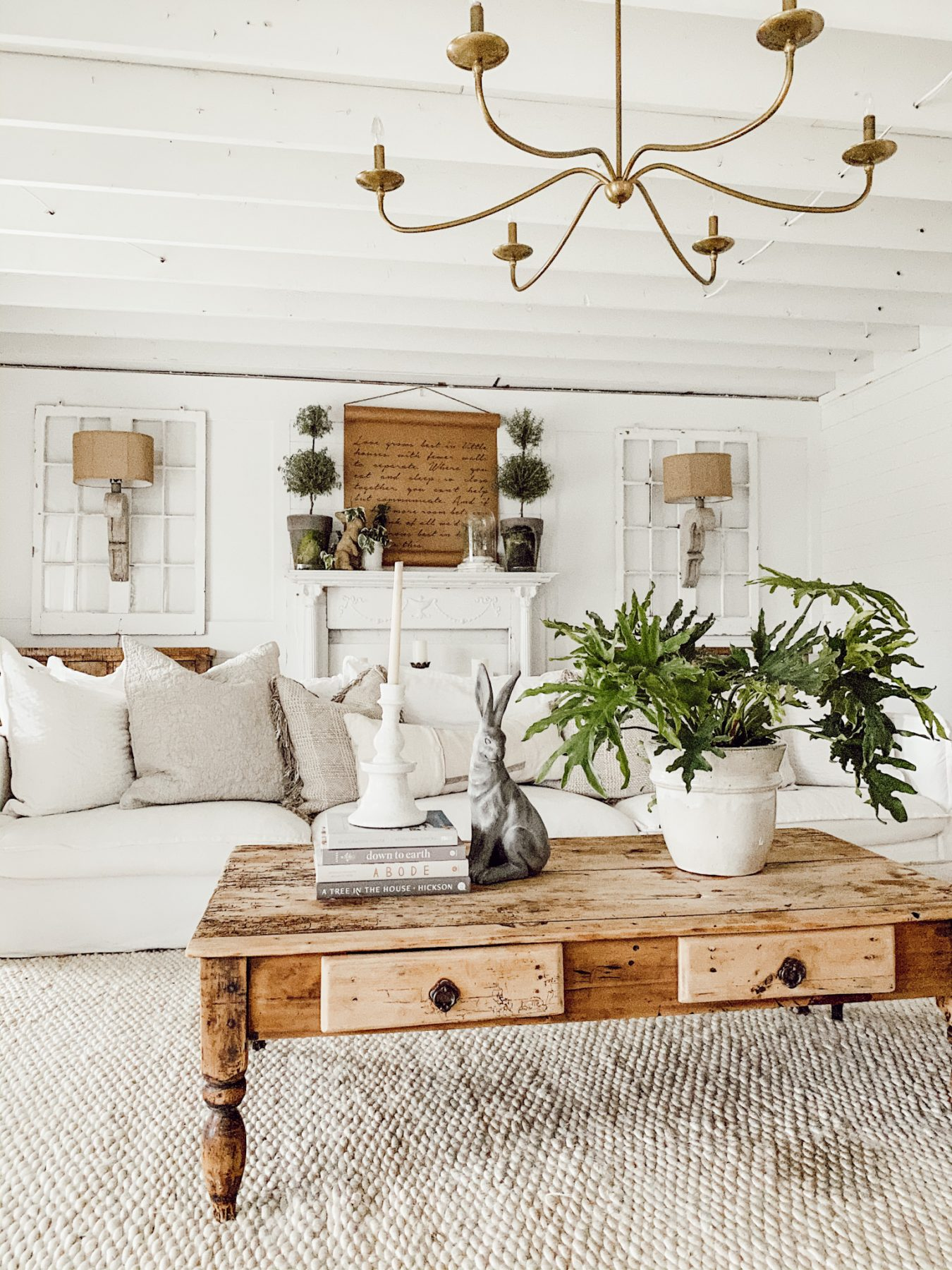 Learn how to style a coffee table