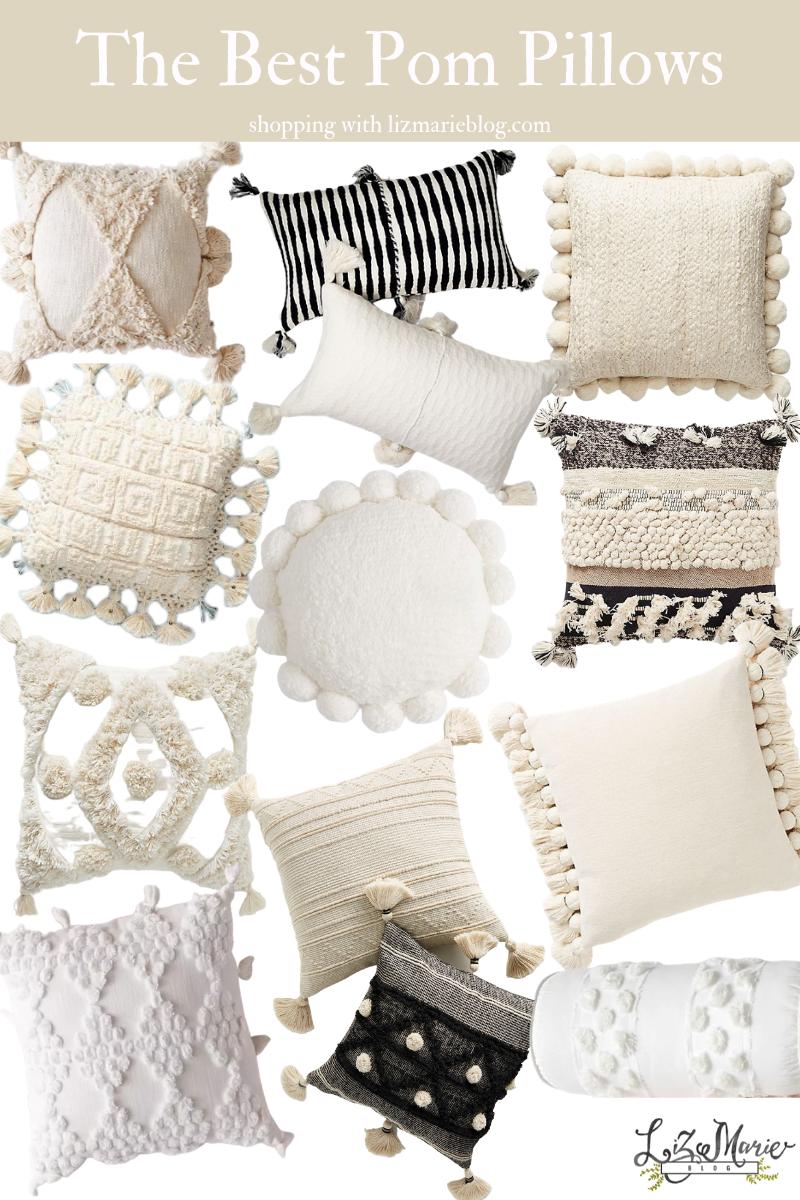 The Best Pom Pillows