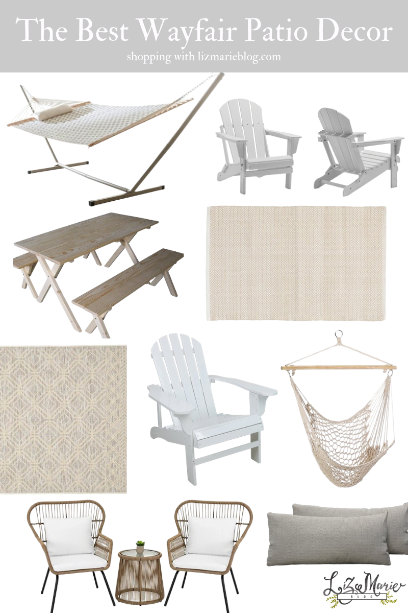 The Best Walmart Patio Decor and Furniture Graphic