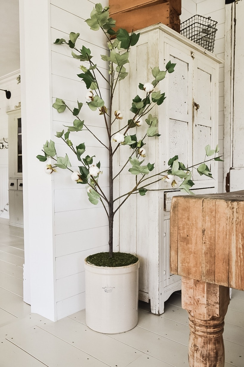 DIY Artificial Branch Decor