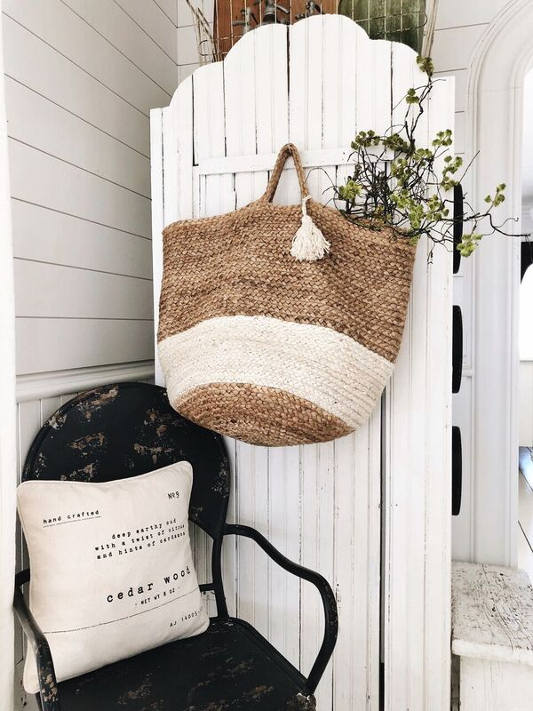 Make it Cozy with A Market Bag