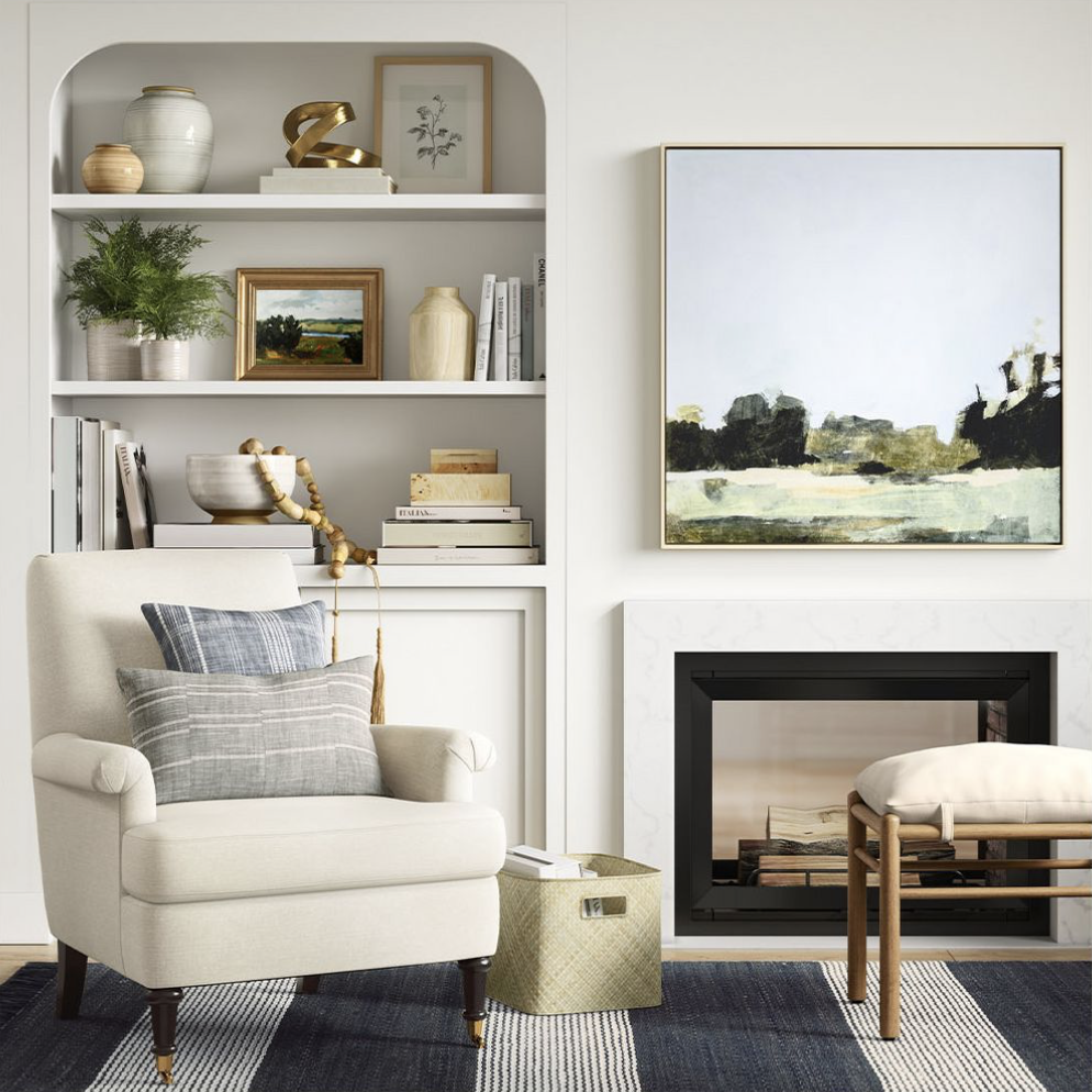 Studio Mcgee Target Collection living room shoot