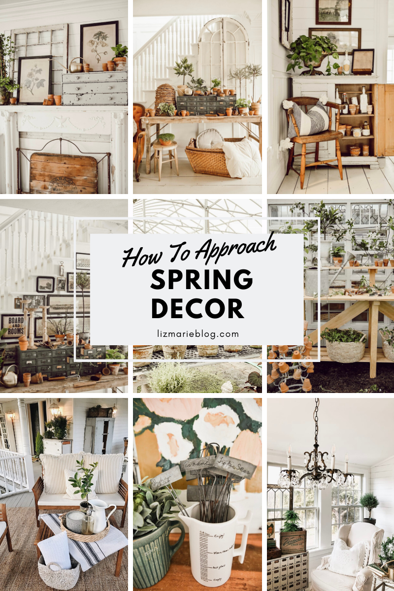 How To Approach Spring Decor