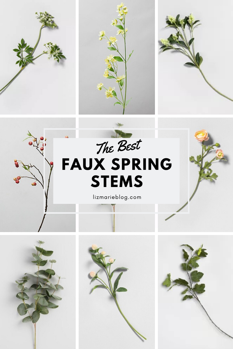 The Best Faux Spring Stems