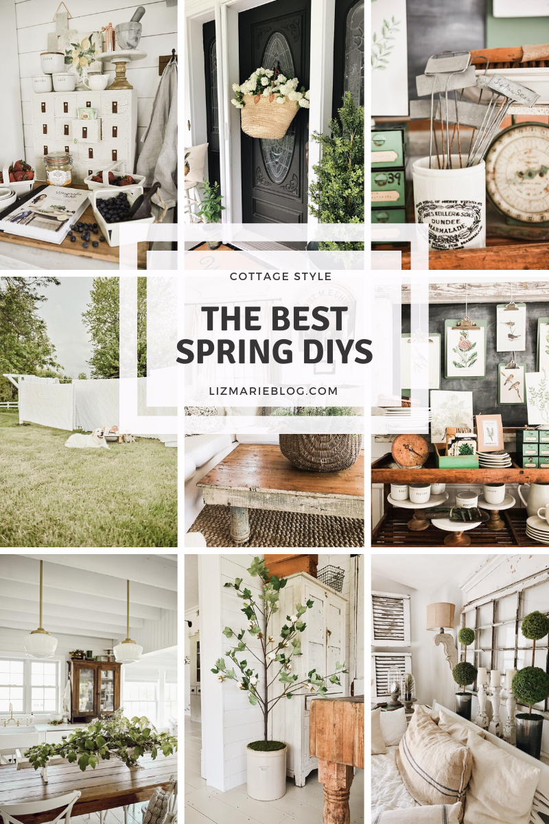 The Best Spring DIYs anyone can do today!