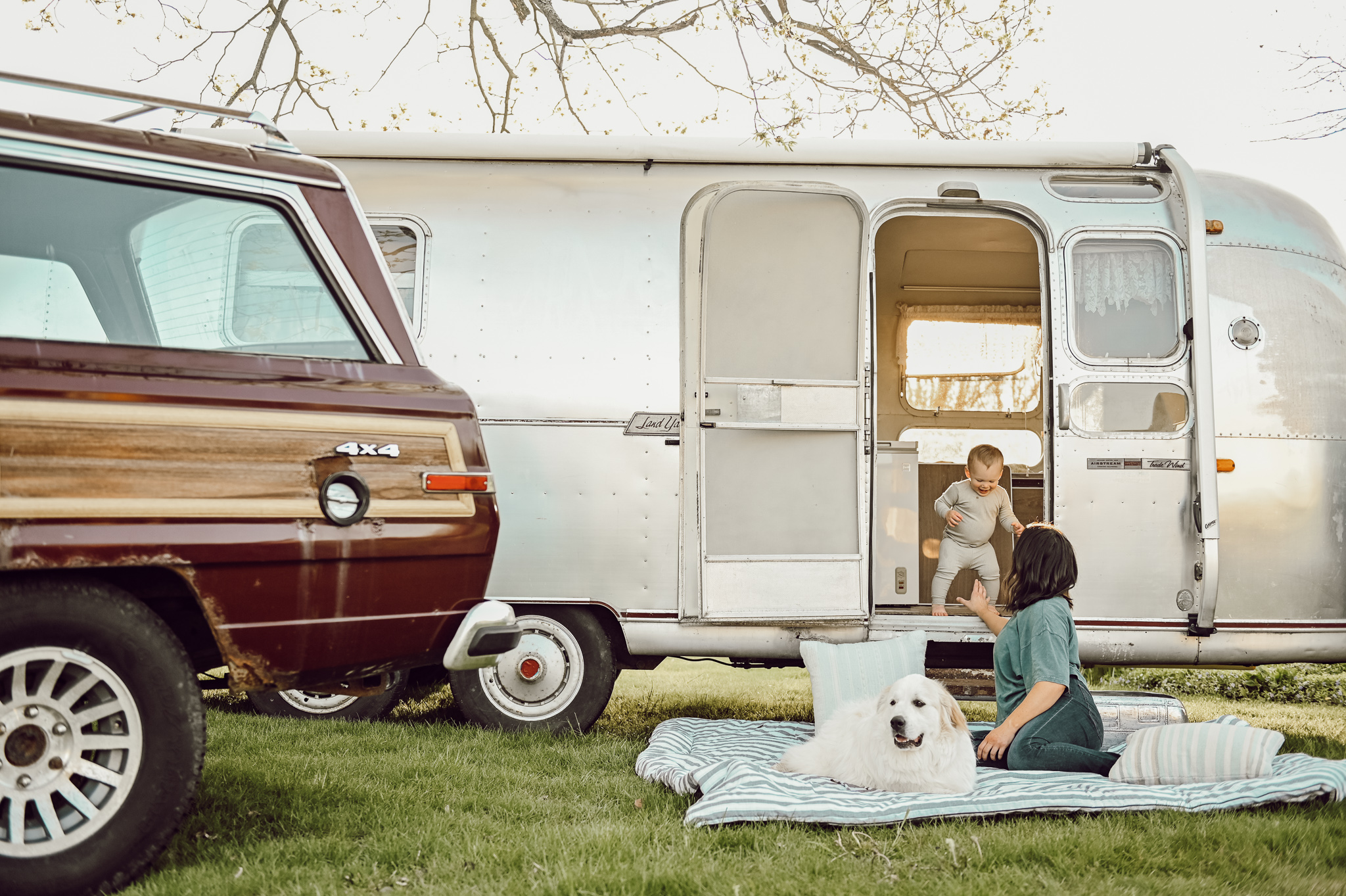 Pottery Barn x Airstream Launch
