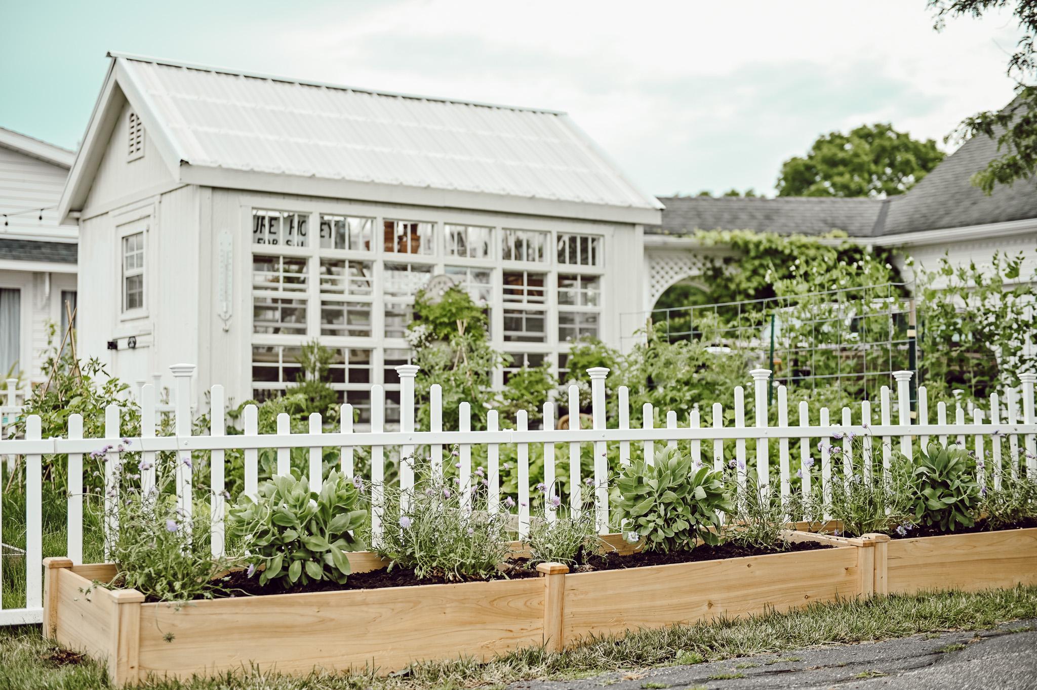 Summer Garden Project, flower box