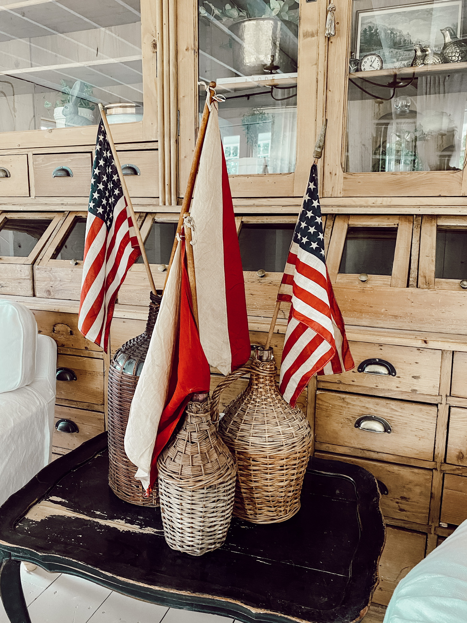 Simple Summer Patriotic Decor