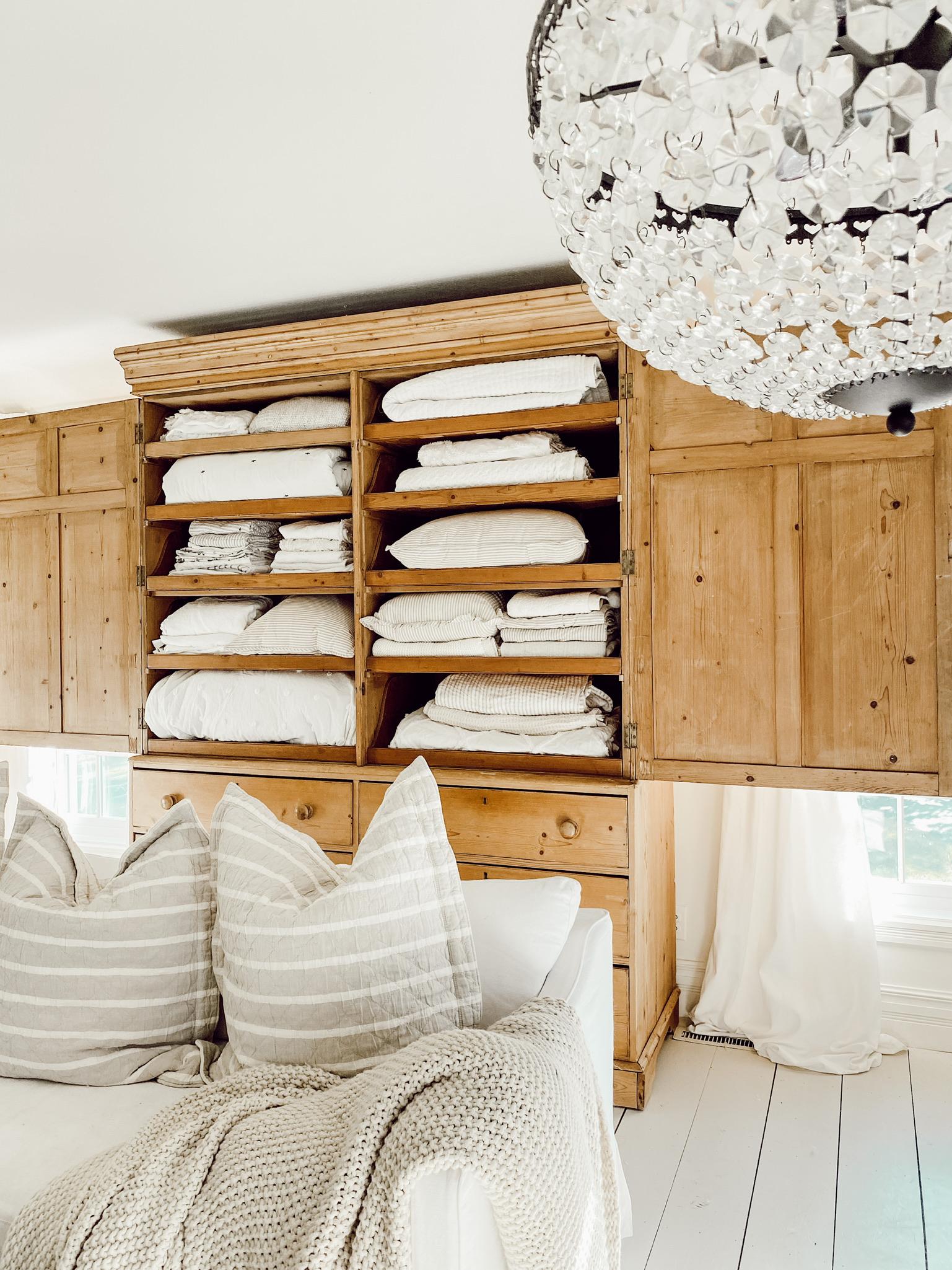 Antique Linen Press – Linen Closet Tips