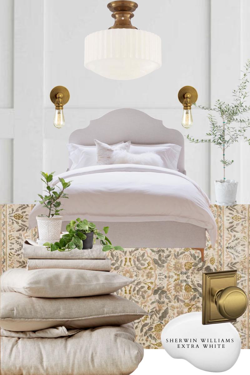 Cozy Main Bedroom Mood Board