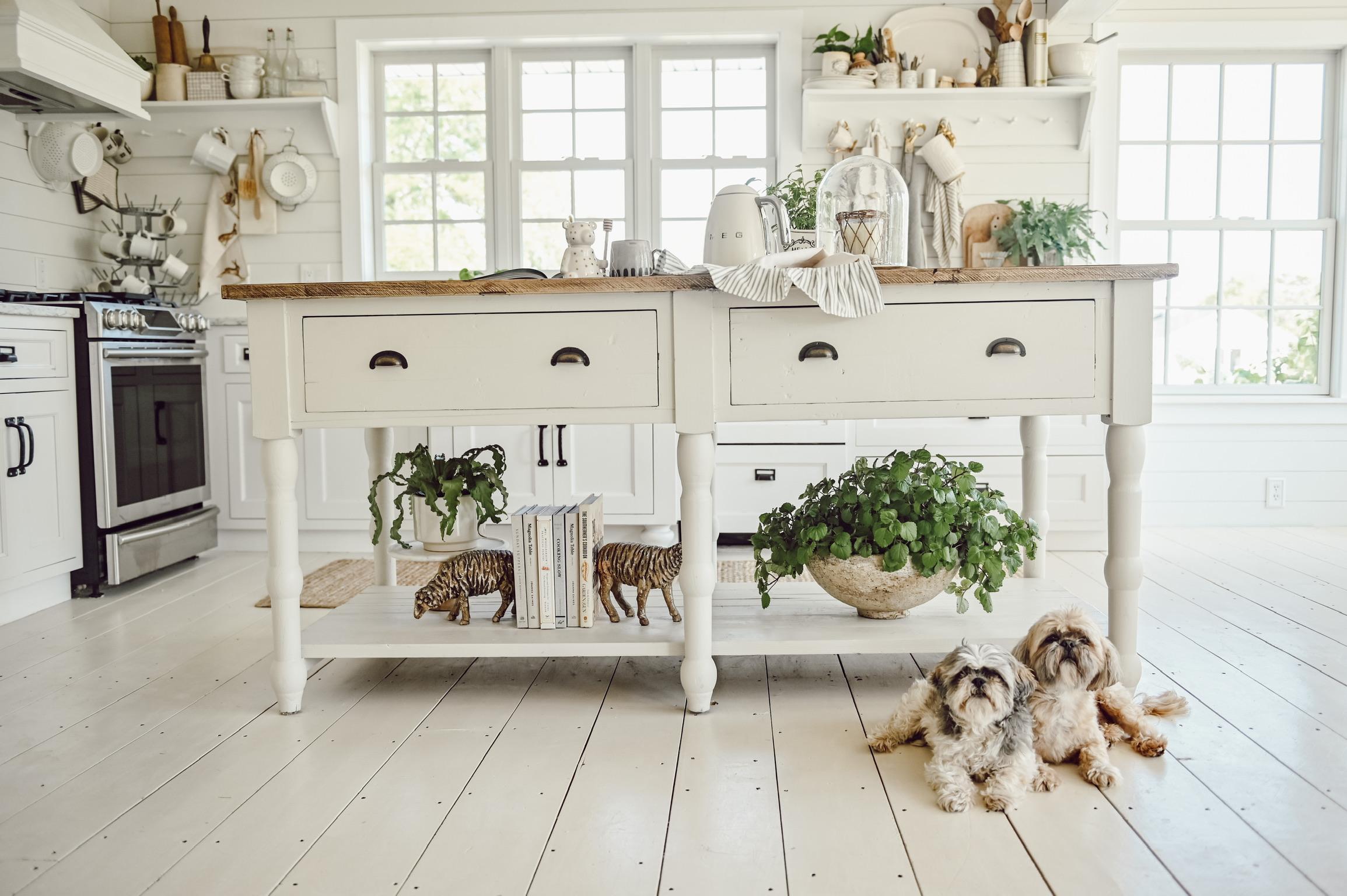Cozy Cottage Kitchen Island Liz Marie Blog