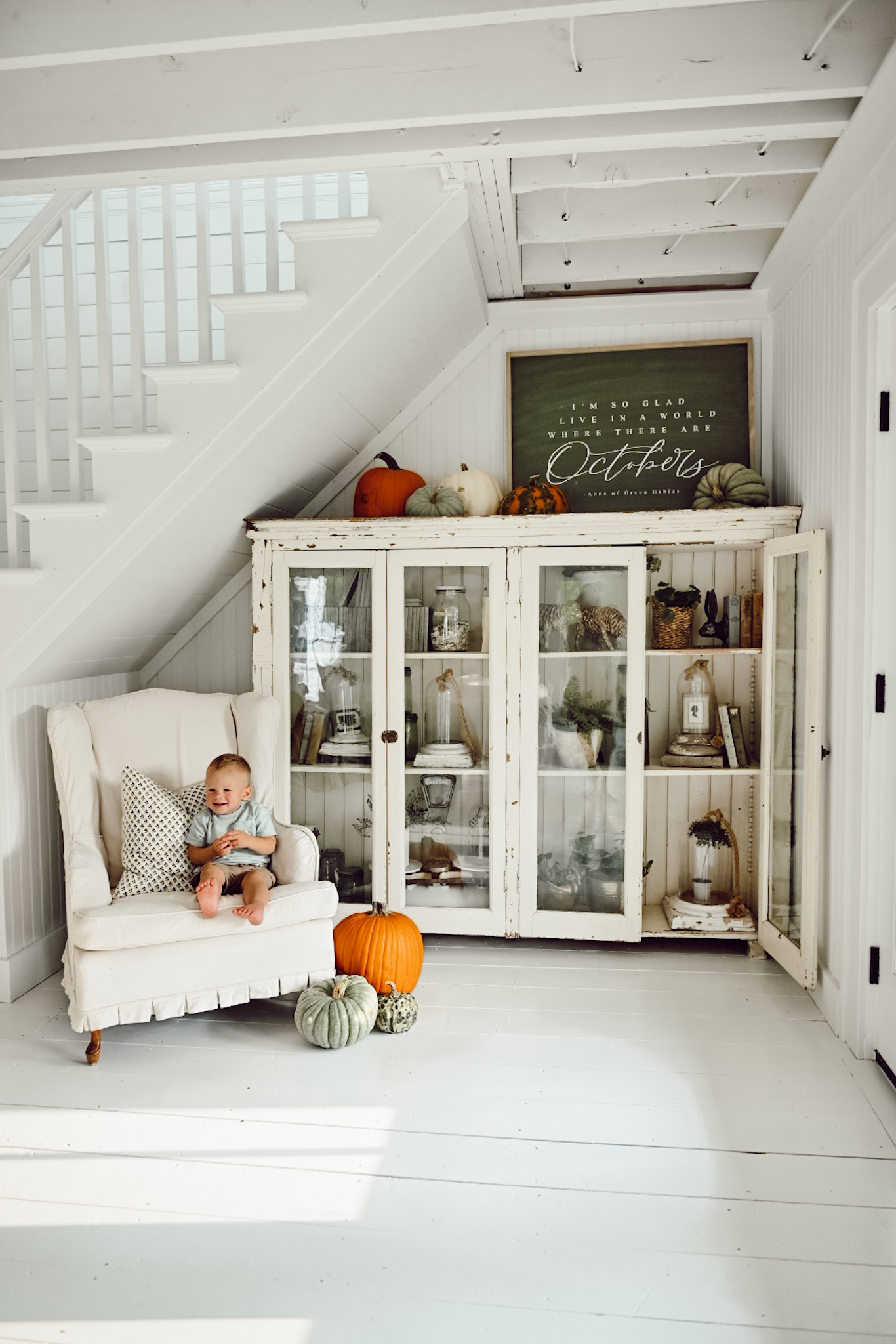 How to make a simple and cozy Fall Entryway