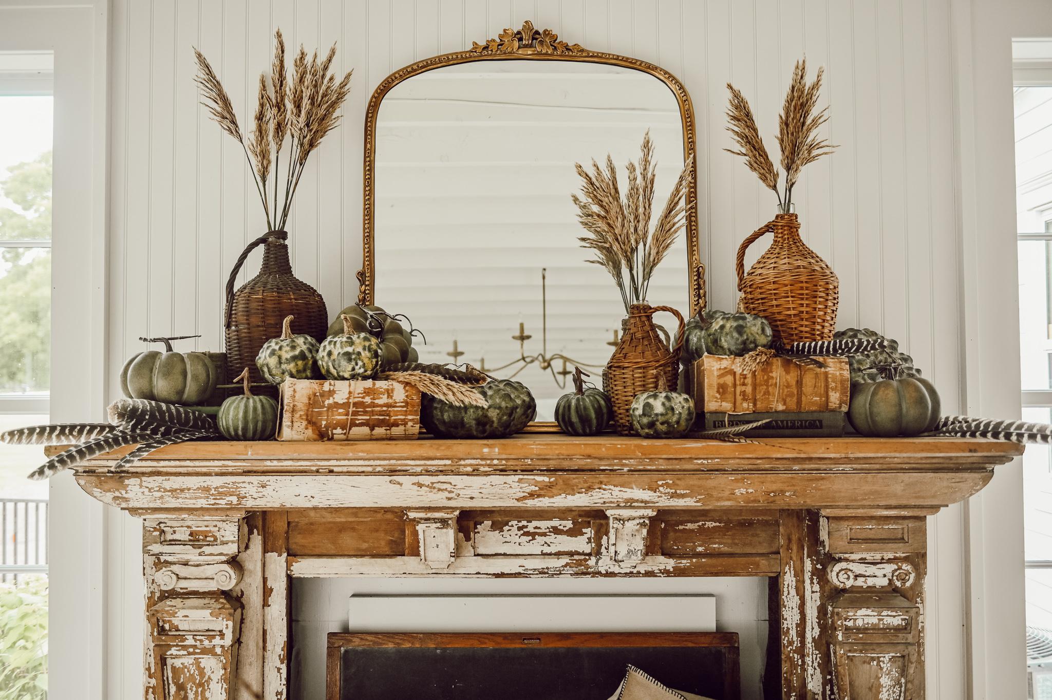 Quick & Simple Fall Decor Tips   Liz Marie Blog