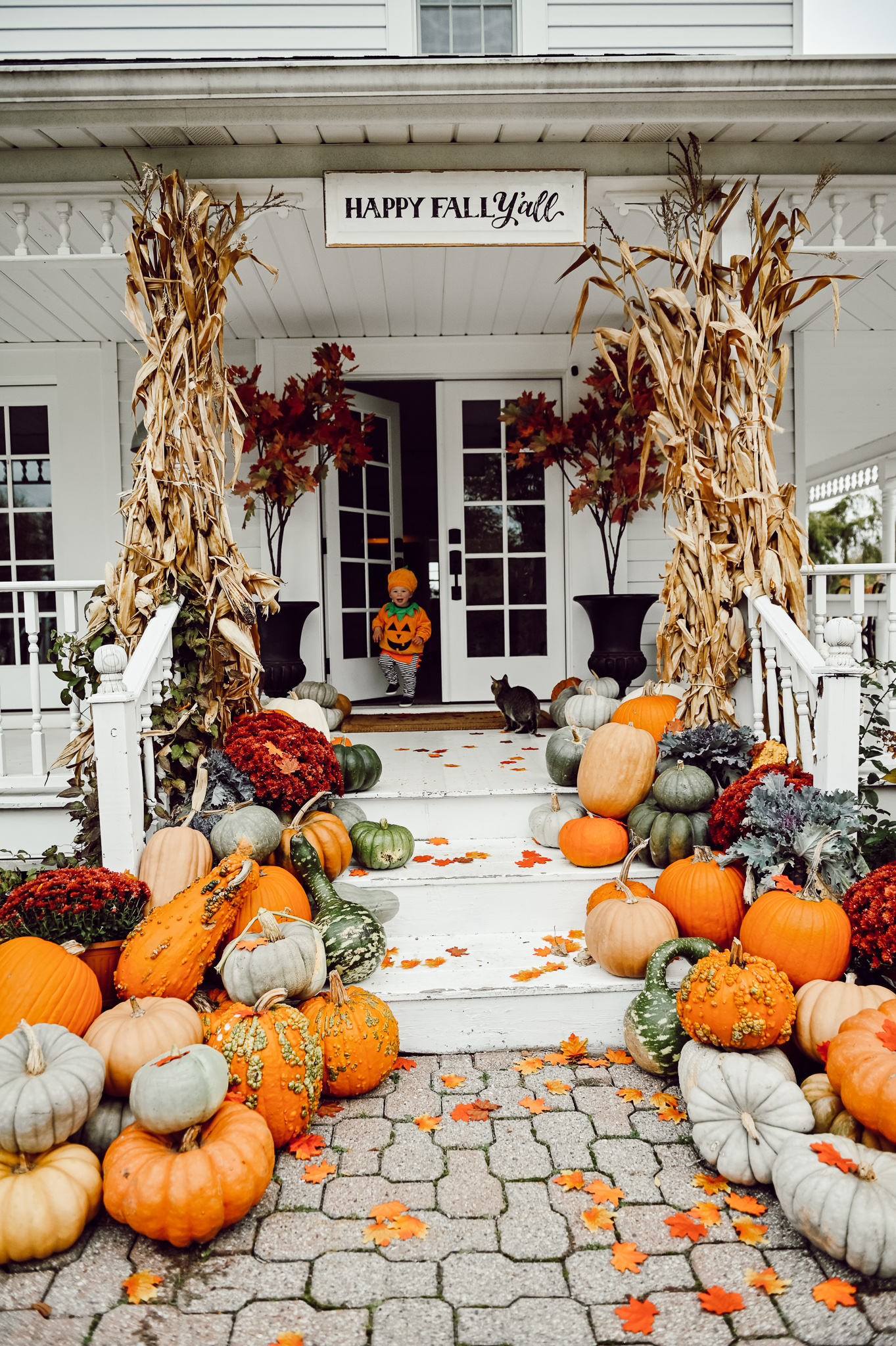 Ultimate Fall Porch