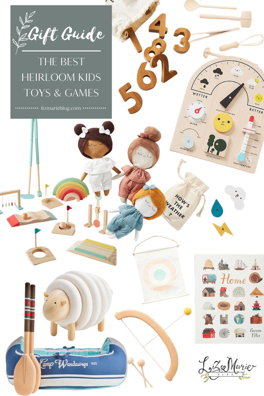 Gift Guide: Heirloom Kid's Toys