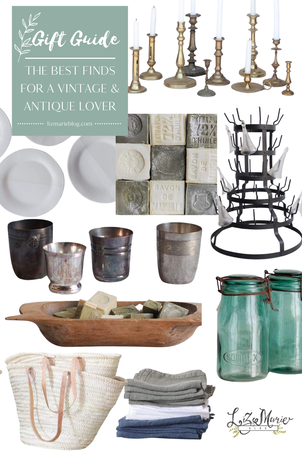 Gift Guide for Vintage & Antique Lover