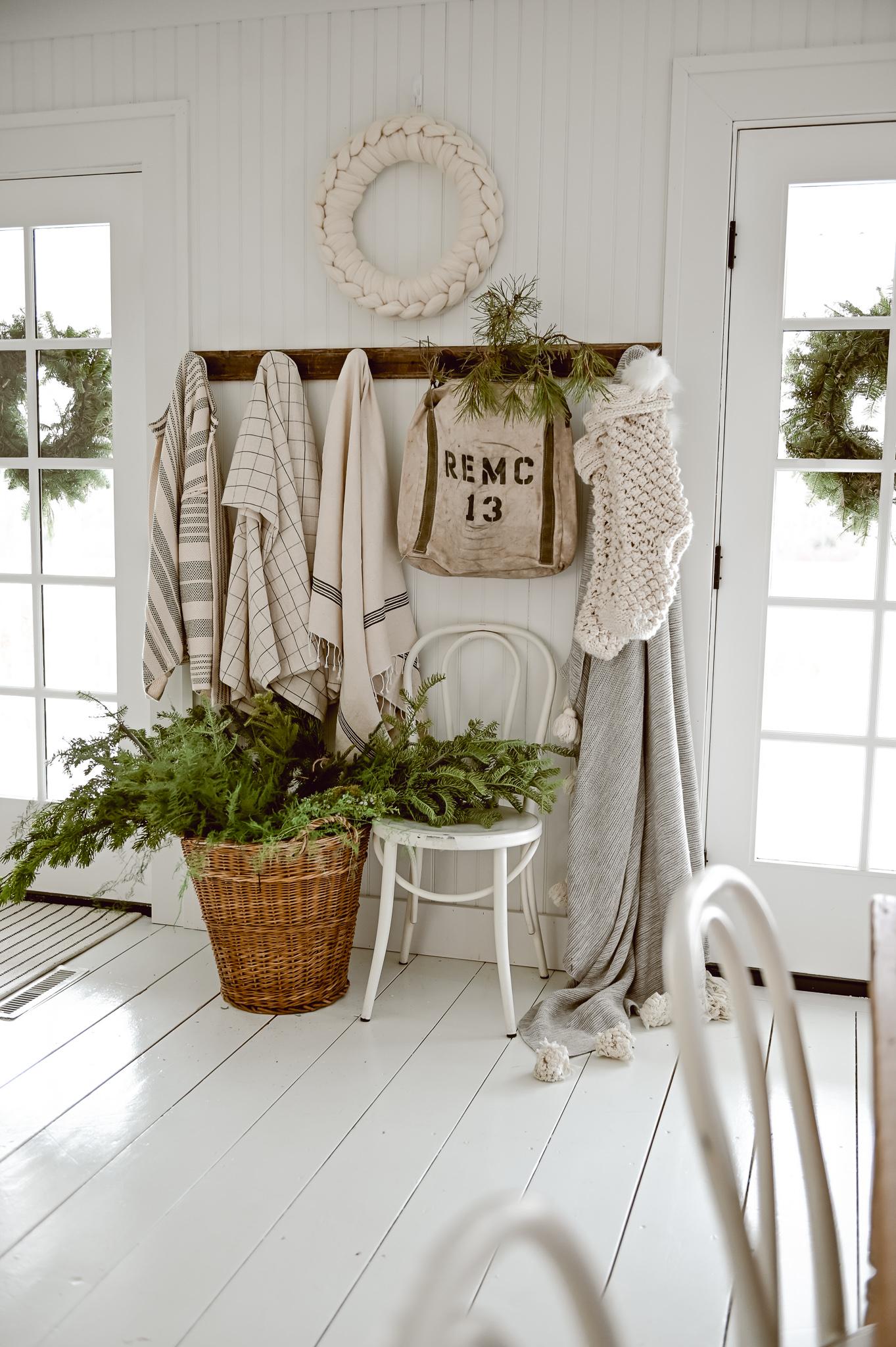 A Cozy Christmas Entryway - Liz Marie Blog Best Children's Lighting & Home Decor Online Store