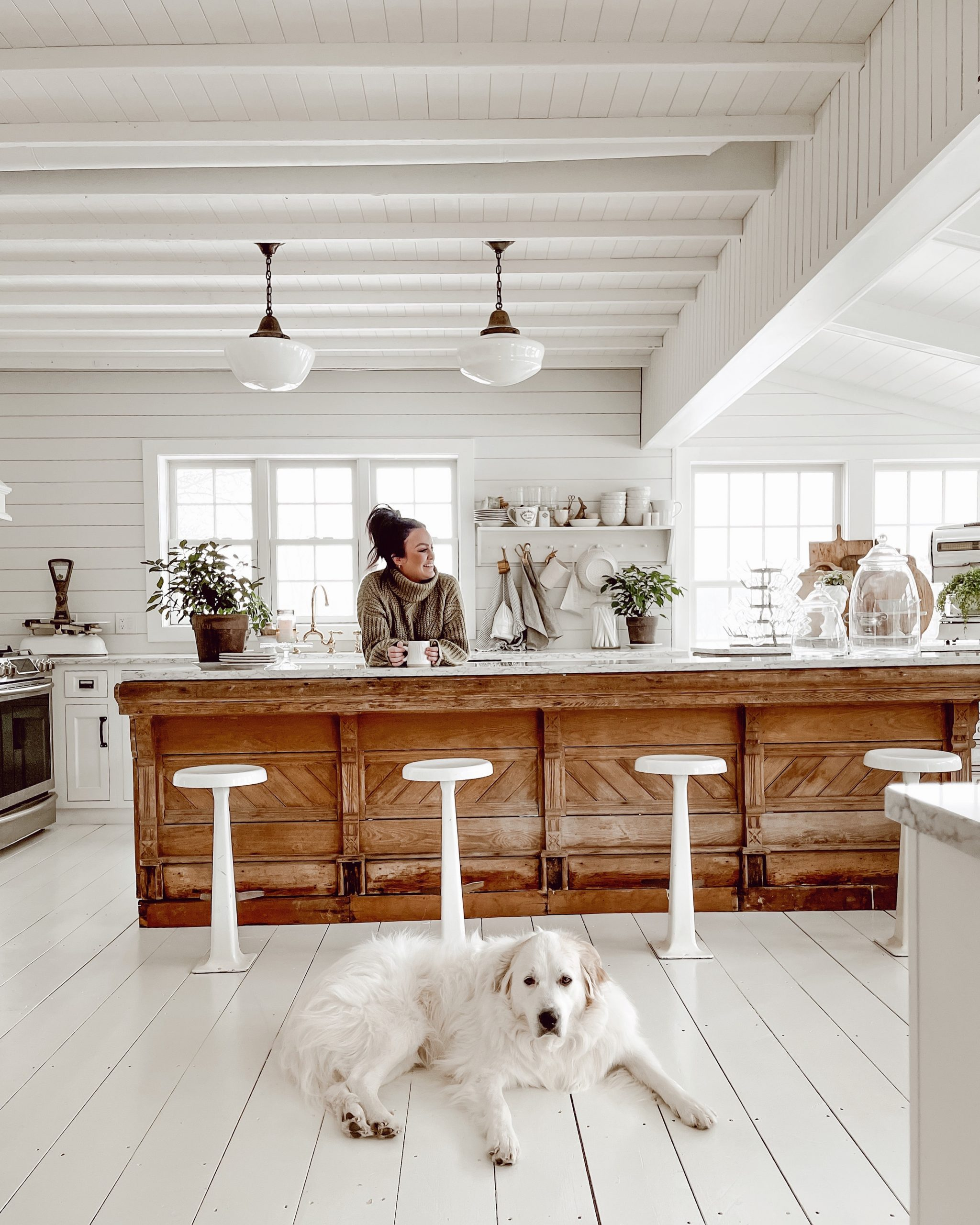Favorite Things Friday: Our New Kitchen Island, Swim Lessons, and more!