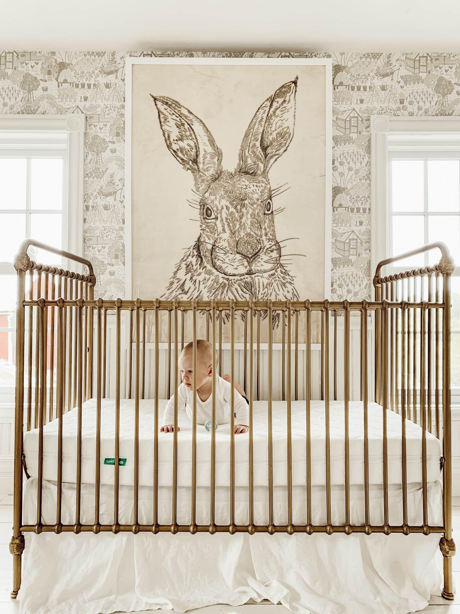 The Best Brass Cribs
