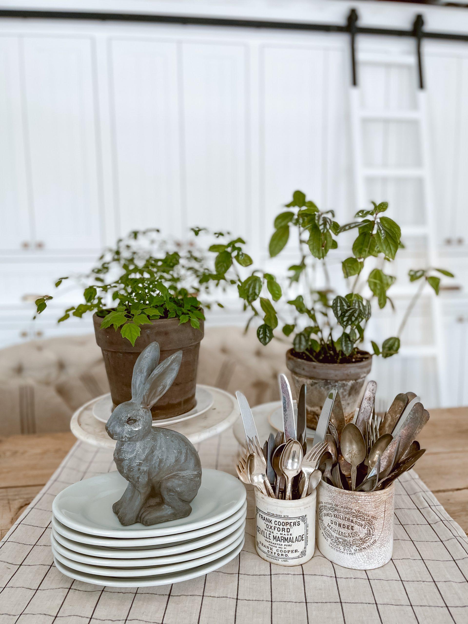 Bunny Spring Centerpiece