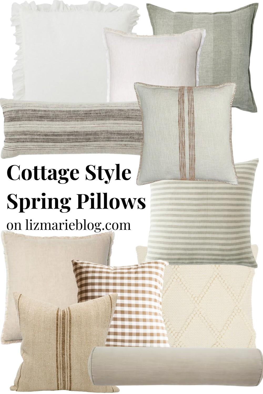 A Guide to Cozy Spring Pillows