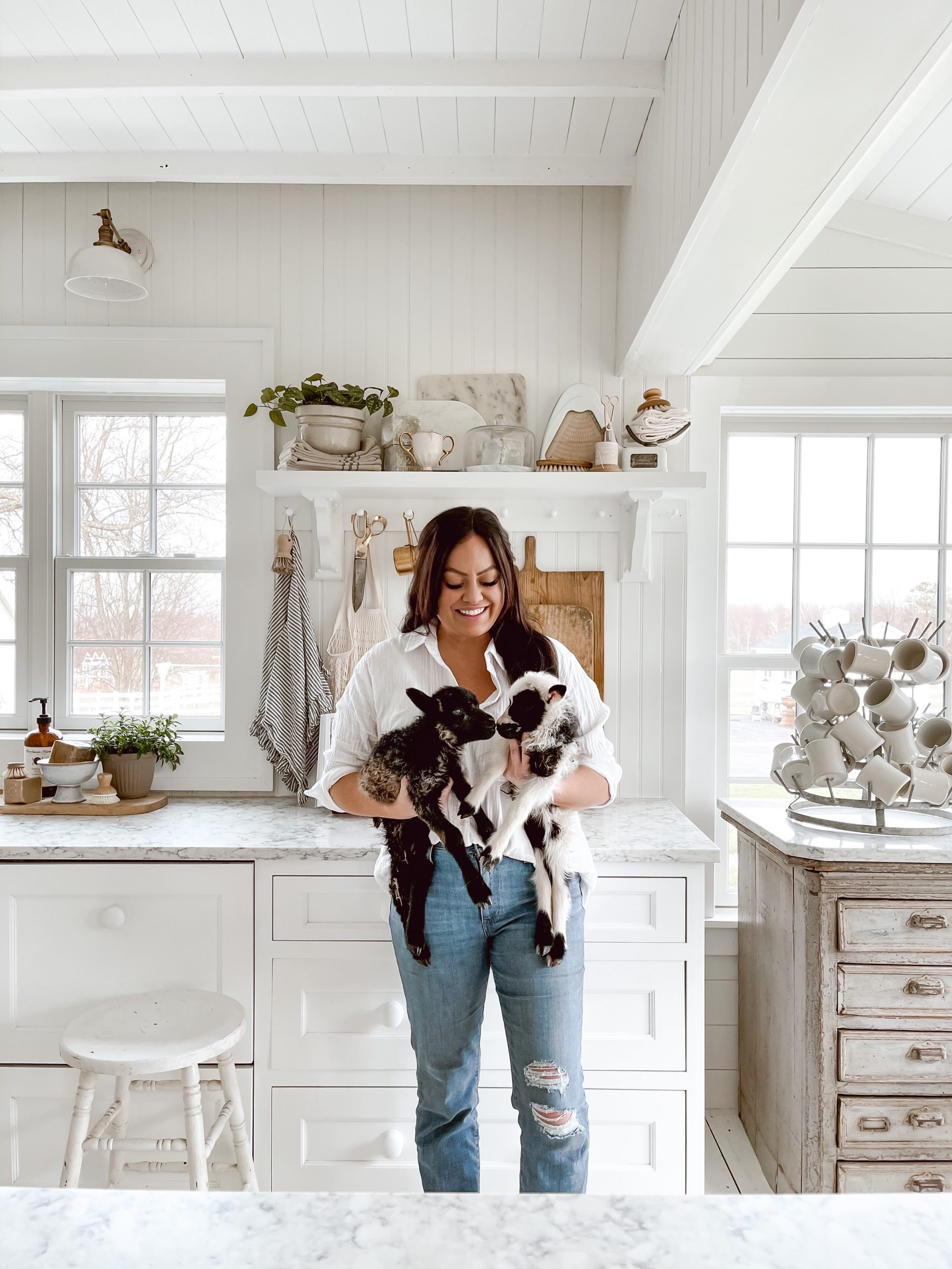 Favorite Things Friday: A Spring Mantel, New Lambs, and a Big Announcement Sunday!