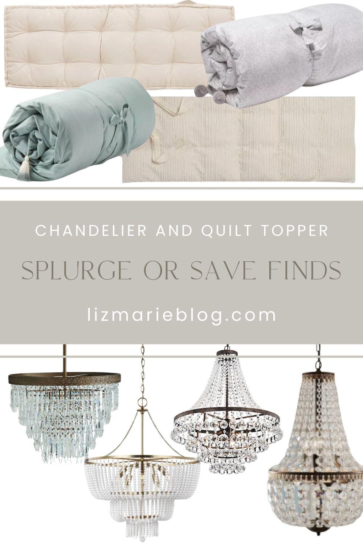 Two Distinctive Splurge or Save Finds