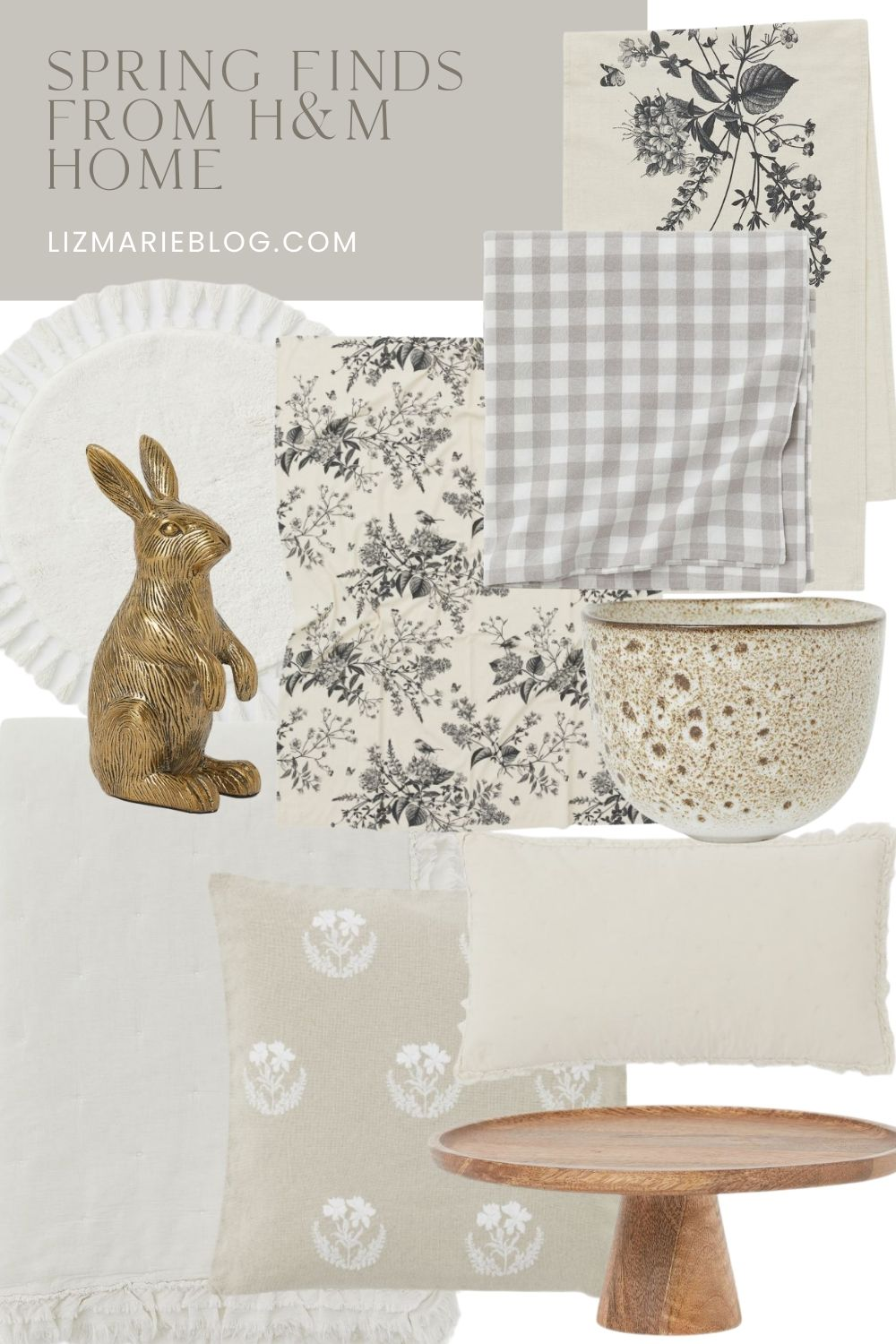 New Spring Finds from H&M Home