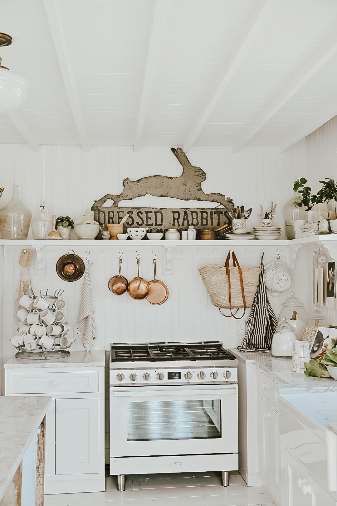 Spring Farmhouse Kitchen