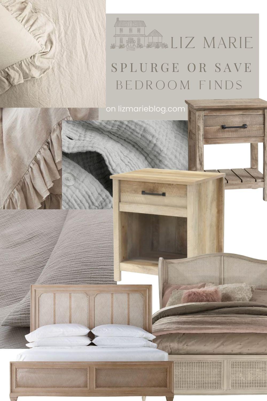 Splurge or Save Cozy Bedroom Finds