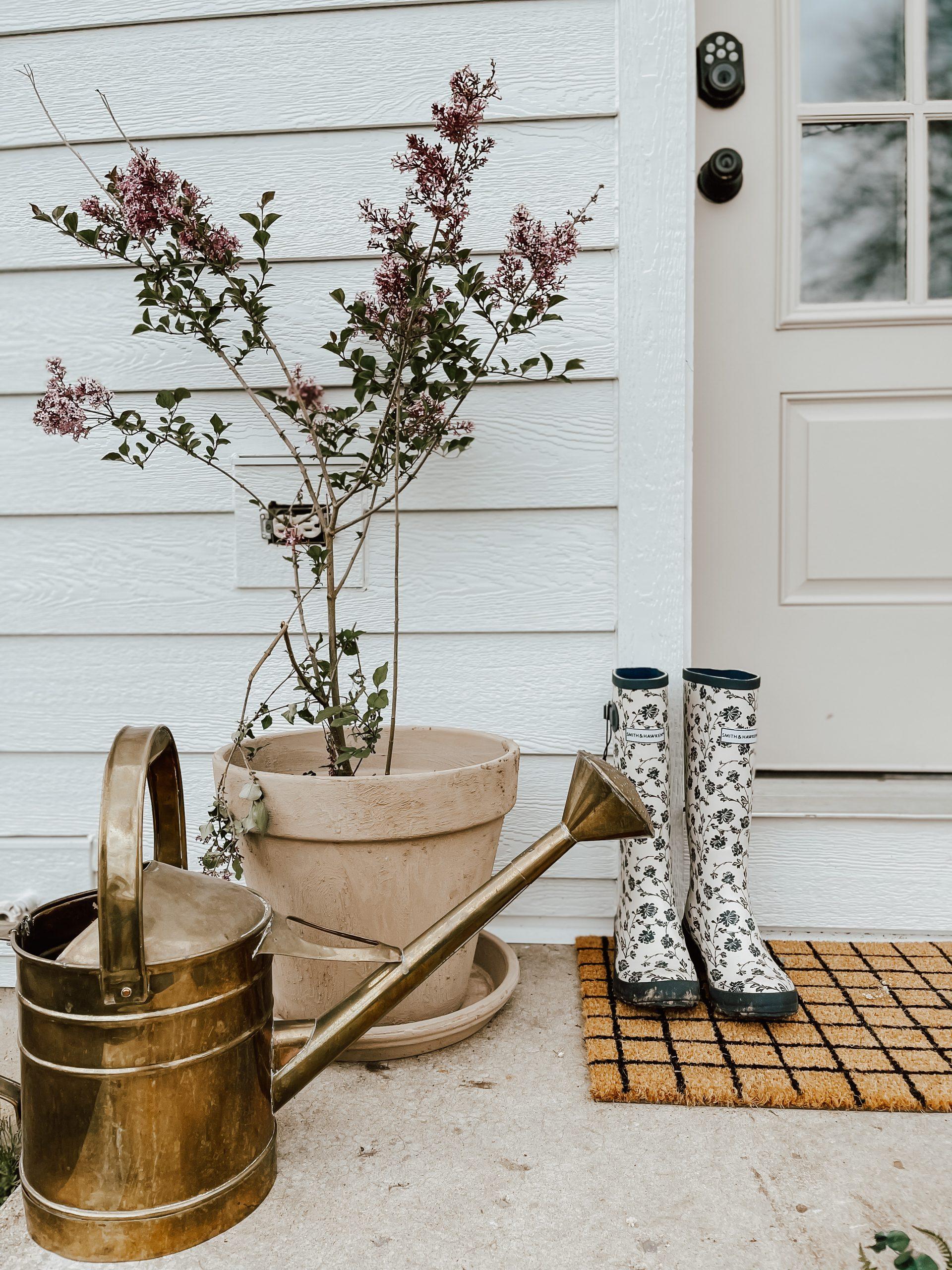 Easy DIY Aged Terra Cotta Pots